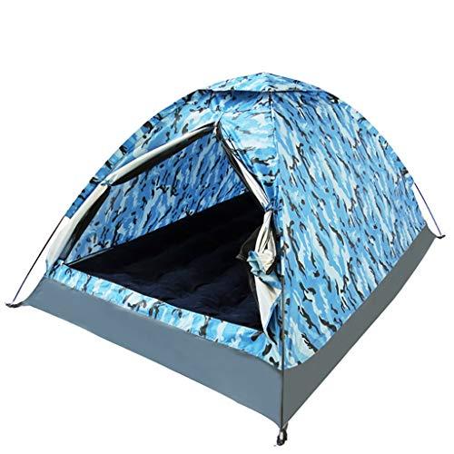 Outdoor slaapzak outdoortent 2 personen reizen met tas openen camping tent vissen wandelen strand 205 * 150 * 110cm A
