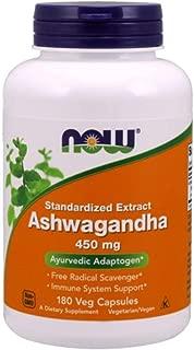 NOW Foods Ashwagandha Extract 450 mg 180 Capsule