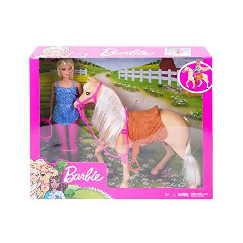 Barbie Accesorios pop en paard met.