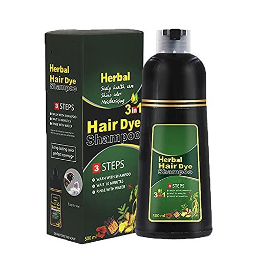 Bartholomew Champú para el cabello con hierbas naturales, sin color de la piel, coloración para el cabello para hombres y mujeres