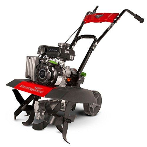Earthquake 20015 Versa Front Tine Tiller Cultivator with 99cc 4-Cycle Viper Engine, 5 Year Warranty