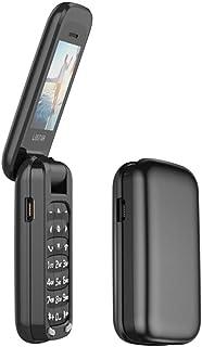 L8star BM60 mini flip mobiltelefon SIM+TF-kort MP3 FM-radio magisk röstväxlare bluetooth urtavla 3,5 hörlursuttag musik mo...