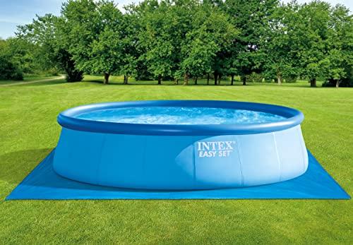 INTEX Tapis de sol pour piscine ronde de 2,44 à 4,57 m