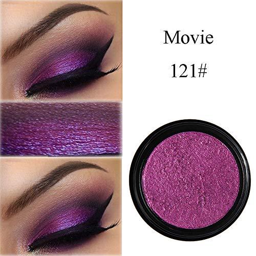 Cwemimifa Eyeshadow Palette Matt,PHOERA Glitter Shimmering Colors Lidschatten Metallic Eye...
