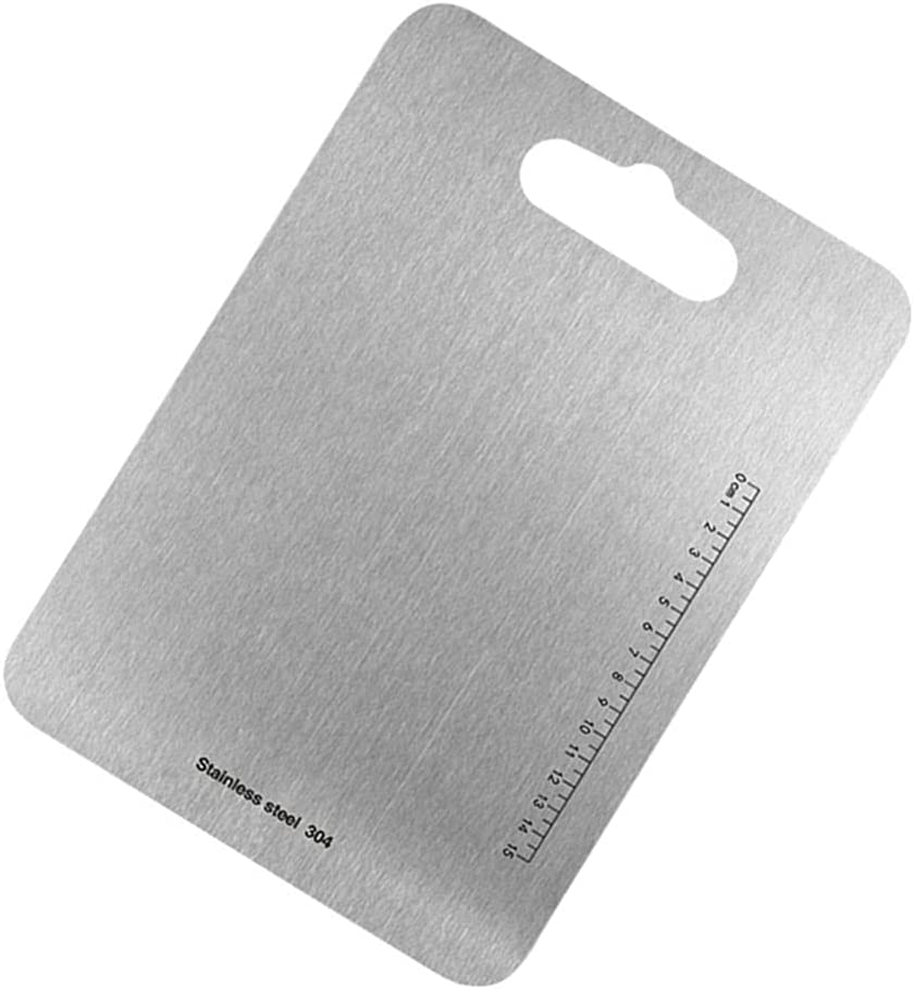 Special sale item DOITOOL Direct stock discount Cutting Board Stainless Duty Steel Chopping Heavy