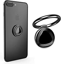 Vooran Cellphone Ring Stand Holder 360°Rotation and 180°Flip Finger Holder Mount for iPhone X 8 7/7 Plus,Samsung Galaxy S8/S7