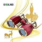 ESSLNB Opera Glasses Binoculars 4X30 Theatre binoculars with Chain and Case Optical Glass