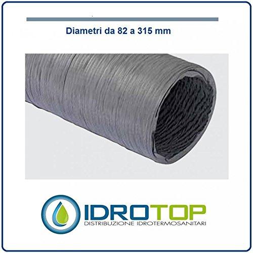 vecamco Clima Plus–Tubo flessibile PVC semplice diametro 204