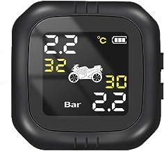 Sistema de monitoramento de pressão de pneu de motocicleta sem fio TPMS testador de pressão de pneu de alta precisão à pro...