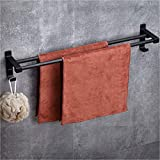 Wangel Adhesivo Fuerte Doble Toalleros de Barra 60cm, Pegamento Patentado +...