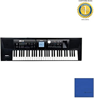 Roland BK-5 61-Key Backing Keyboard with Microfiber and 1 Year Everything Music Extended Warranty