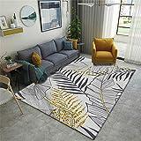 Alfombras Que Se Pueden Fregar Decoracion Dormitorio Alfombra de la alfombra de la alfombra de la alfombra de la alfombra de la alfombra de la manta de la palma de la hoja de oro de la hoja de oro Alf