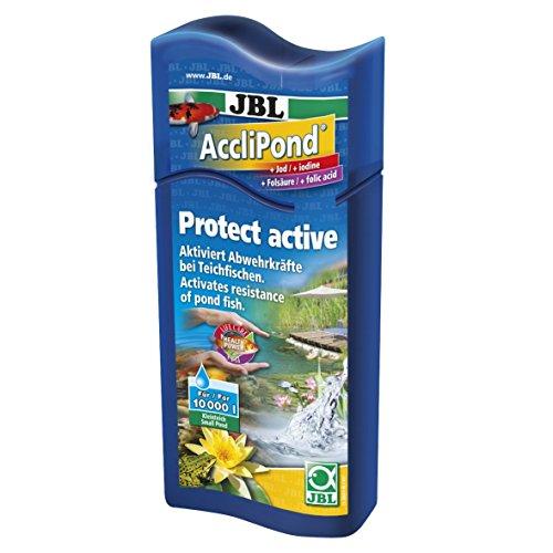 JBL AccliPond 500ml, Conditionneur d'eau de bassin pour l'activation des défenses immunitaires
