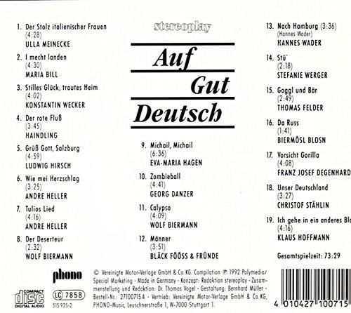 Stereoplay Special CD 71 - Auf Gut Deutsch