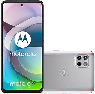 """Smartphone Moto G 5G Prata Prisma, com Tela 6,7"""", 5G, 128GB e Câmera Tripla de 48MP"""