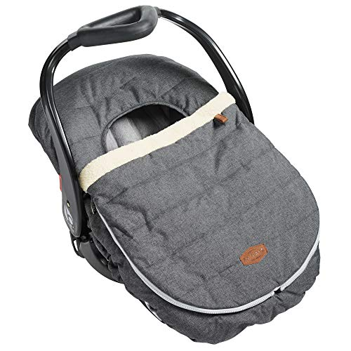 JJ Cole Car Seat Cover Heather Grey, Gray