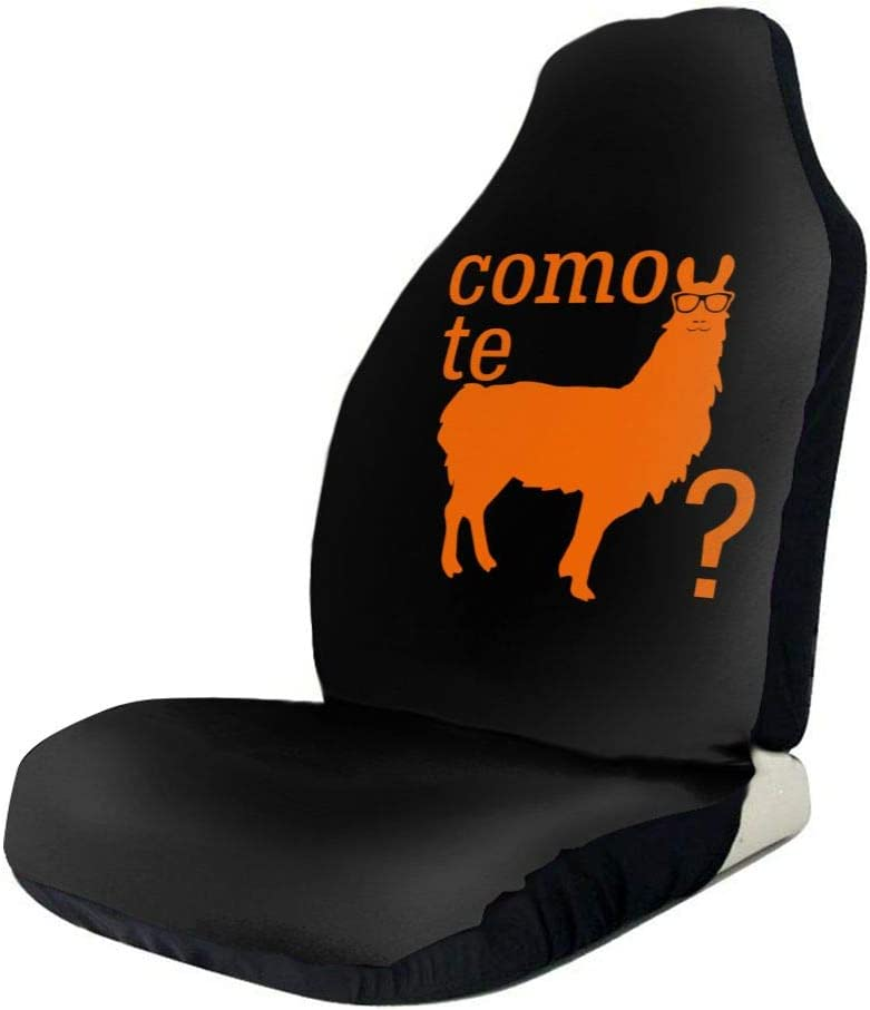 Ranking TOP10 POI78 Bargain sale Como Te Llamas Fascinating Seat Auto Pattern Cover Fashion