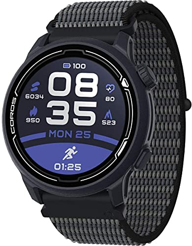 COROS PACE 2 Premium GPS Sportuhr, Herzfrequenzmesser,...