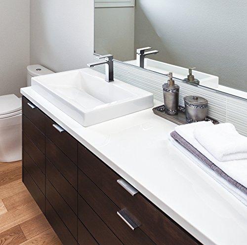 Saona Slim – Grifo de lavabo monomando repisa