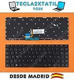 Teclado para PORTATIL Lenovo IDEAPAD Yoga 2 13 700-14ISK EN ESPAÑOL RETROILUMINADO Ver Foto