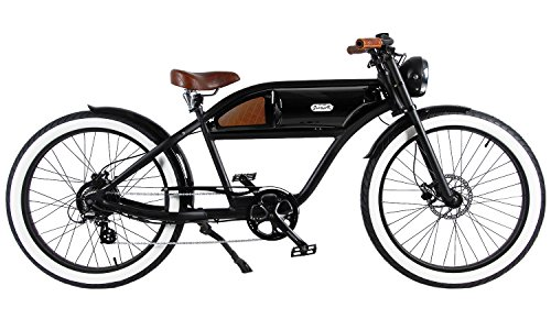 516uUC7P5bL T4B Greaser Retro Style Electric Bike