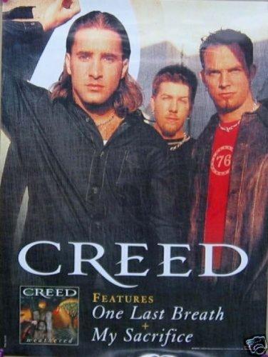 Creed Weathered Poster Drucken (45,72 x 60,96 cm)