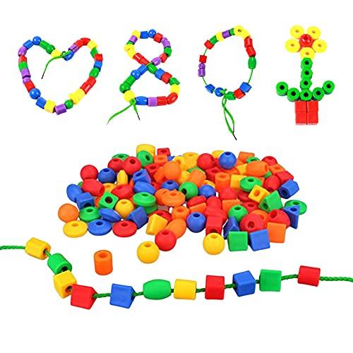 Ulapithi Regalo para niñas de 3 a 6 años, juguete de hilo de resina, regalo de cumpleaños para niños de 3, 4, 5 y 6 años