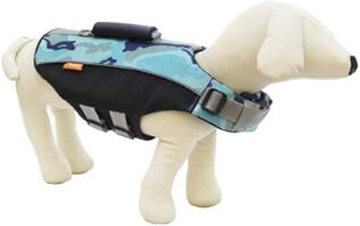 Life Jacket, Dog's Comfortable and Safe Swimming Vest, Oxford Cloth Quality Material, bluee and Other Multicolor Optional, Easy to Carry (Size  L, M, XL) (color   bluee, Size   L)