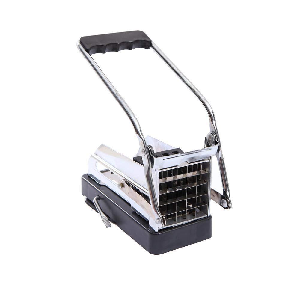 Máquina de cortar patatas fritas, cortadora de patatas, apta para cocinas y hoteles familiares, cortada de manera uniforme y perfecta para patatas fritas, fácil de usar: Amazon.es: Hogar