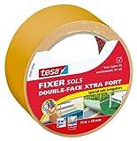 Tesa 05691-00000-00 Fixer Sols -Double-face Xtra Fort Spécial Sols Irréguliers 10 m x 50 mm