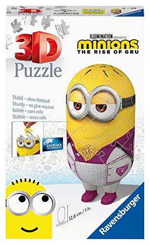 Ravensburger 3D Puzzle Minion Disko 11229 - Minions 2 - 54 Teile - für Minion Fans ab 6 Jahren