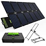 Upgrade Topsolar 100W Foldable Solar Panel Charger Kit for Portable Generator Power Station...
