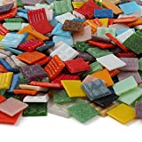 Milltown Merchants™ Mosaic Tile Assortments come in amazing variety of bright and beautiful colors. Venetian mosaic glass tiles can be nipped or cut into different sizes to fit your project needs. Milltown Merchants™ mosaic tiles are perfect for arts...