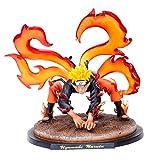 GSDGSD Naruto Kyuubi Kurama Estatua Diorama PVC Figura de acción Anime Naruto Shippuden Uzumaki Naru...