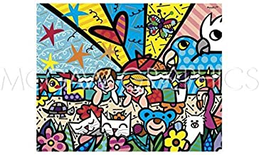 Bruce McGaw in The Park by Romero Britto 10