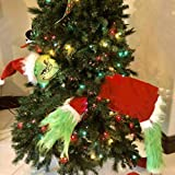 Elf Body for Christmas Tree,13.78 Inch Christmas...