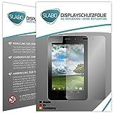 Slabo 2 x Bildschirmschutzfolie Asus FonePad ME371MG Bildschirmschutz Schutzfolie Folie No Reflexion|Keine Reflektion MATT - Entspiegelnd MADE IN GERMANY