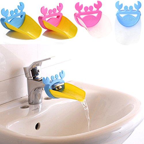 Nuevo HeroNeo de grifo de alargador de cangrejo para labores delicadas de lavar las manos infantil