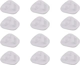 Joycare Baby Safety Plastic Socket Plug Cover Protector For infants Kids UK Type 12pcs