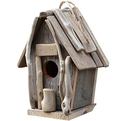 Bird House Bird House Hut Garden Décorations Extérieur En Bois Suspendus Maison For Oiseaux Jardin Maisons D'oiseaux Creative Décoration Extérieure Mangeoire En Bois Ferme Cour Jardin Villa Décor De J