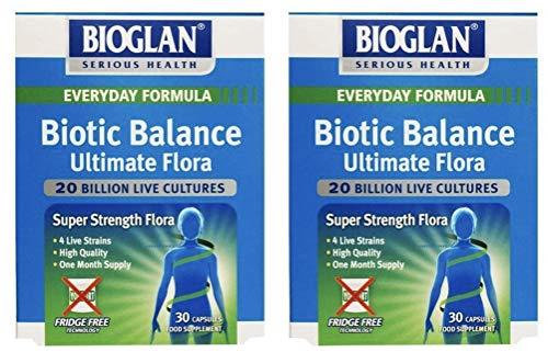 Bioglan Biotic Balance Ultimate Flora 30 Capsules Duo Pack - 30 Caps x 2
