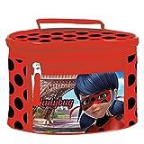 Ladybug Neceser Bolsa Aseo con asa para niña Multicolor (Multicolour)
