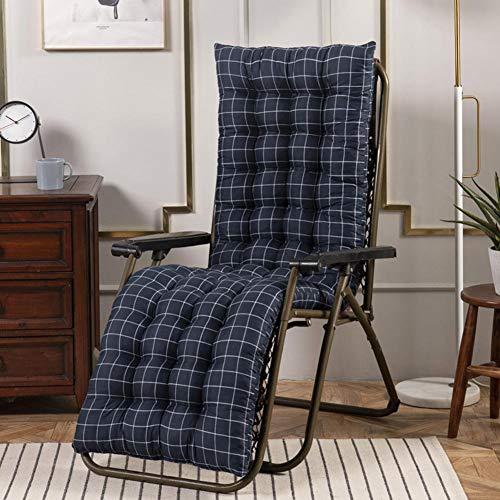 Auflagen für Gartenliegen,Auflage Sonnenliege Gartenliege Einfarbig Liegenauflagen Anti-Rutsch-Design Polster Kissen Dick Liegestuhl Relaxliegenauflage