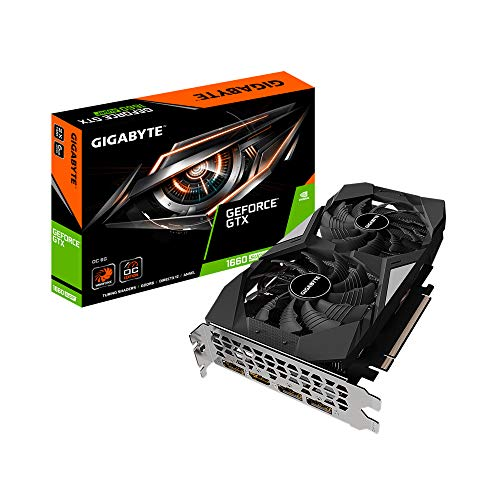 Gigabyte GeForce GTX 1660 SUPER OC 6G (6 GB GDDR6/PCI Express 3.0/1860 MHz/14000 MHz)
