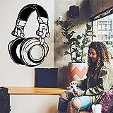 wukongsun DIY Kunst kopfhörer Musik Vinyl Aufkleber Dekoration tapete kinderzimmer Dekoration...