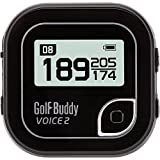 Golf Buddy Voice 2 GolfBuddy Voice4 Easy-to-Use Talking GPS, Black