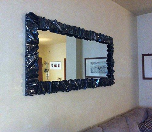 CORNICE DESIGN Specchio Foto FERRO BATTUTO con o senza LED Personalizzata 850