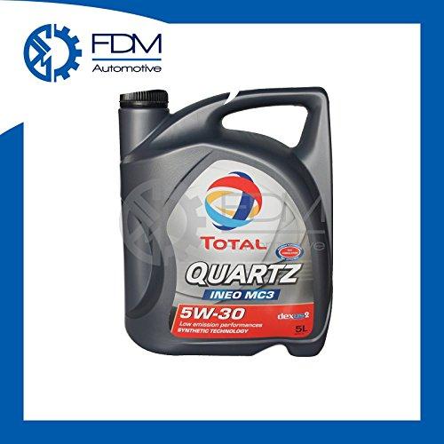 Olio motore Total Quartz INEO MC3 5W-30 Fuel Economy 5W30 5 L