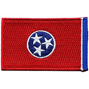 Tennessee Nashville Sew-On/Iron-On Patch United States of America USA US 0040