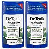 Best Natural Deodorant For Men - Dr. Teal's Aluminum Free Deodorant - Eucalyptus Review